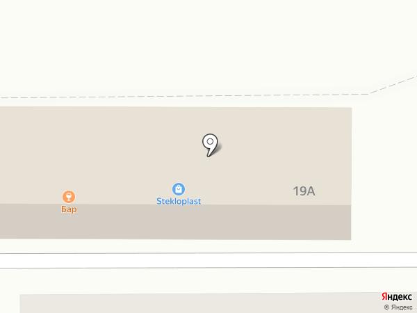 Магазин окон и дверей на карте Новомосковска