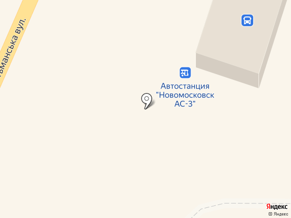 ДОПАС, ПАО на карте Новомосковска