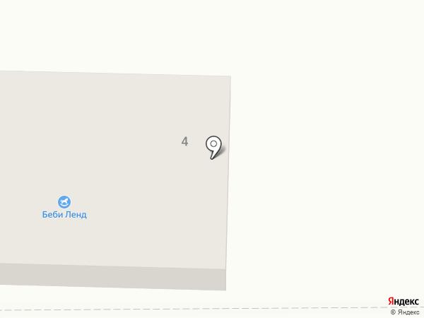Беби Ленд на карте Новомосковска