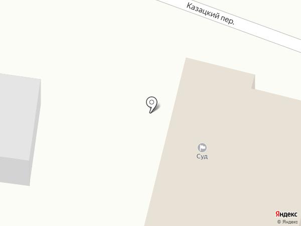 Новомосковський міськрайонний суд на карте Новомосковска
