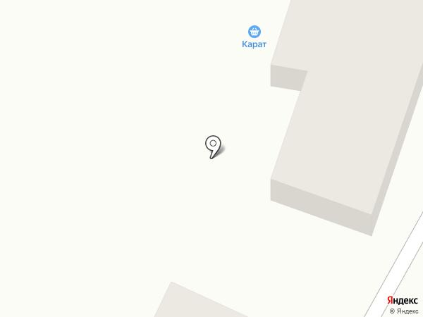 Карат на карте Новомосковска