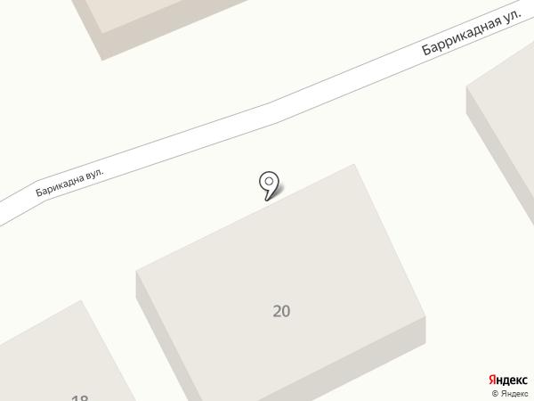Магазин сантехники на карте Новомосковска