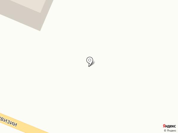 Шиносервис + на карте Новомосковска