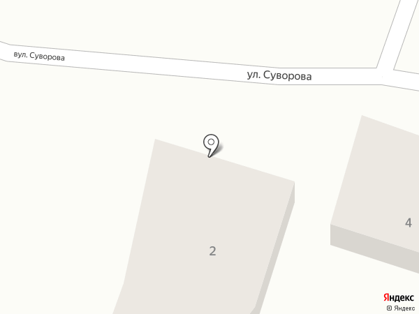 Ветеринарный кабинет на карте Новомосковска
