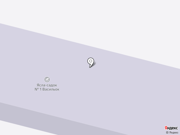 Дошкільний навчальний заклад №1 на карте Илларионово