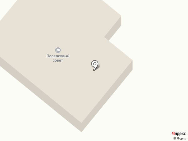 Іларіонівська селищна рада на карте Илларионово