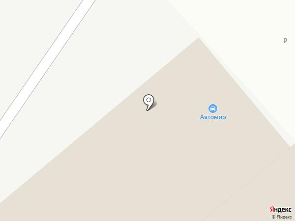 ИВАДА на карте Твери