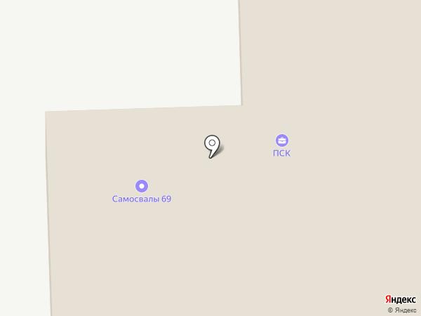 Ангел69 на карте Твери
