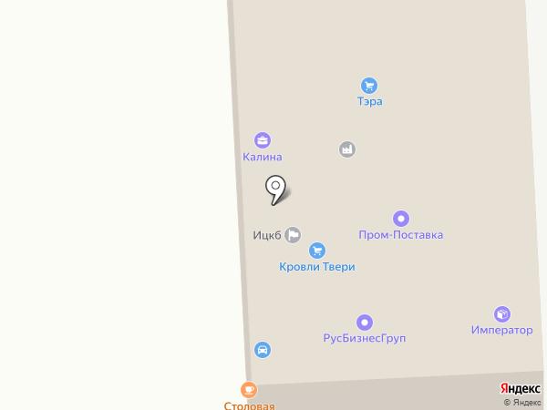 ПожГарантСервис на карте Твери