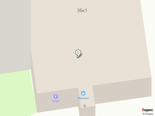 Шар на карте Твери