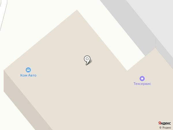 Комавто на карте Никольского