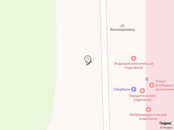 Областная клиническая больница на карте Твери