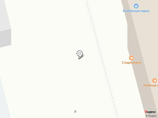 Элика на карте Твери