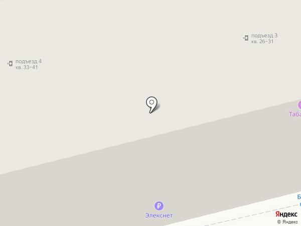 Элекснет на карте Твери