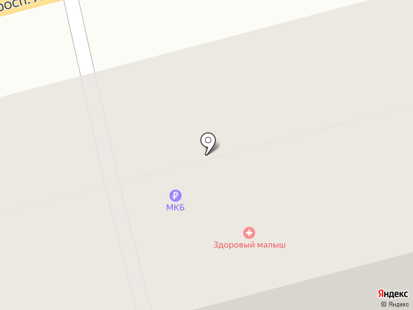 Архитек на карте Твери