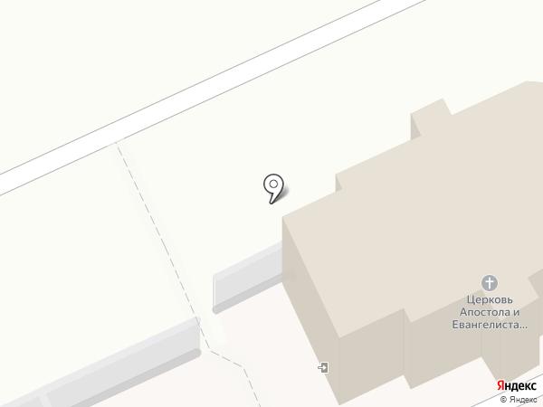 Часовня на карте Твери