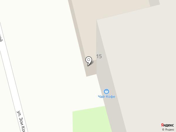 Танюша на карте Твери