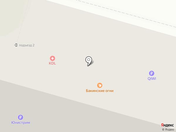 Тверские ворота на карте Твери