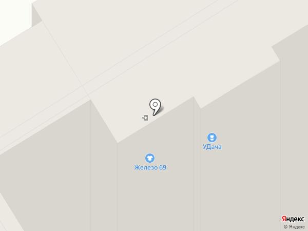 Магазин счетчиков газа на карте Твери