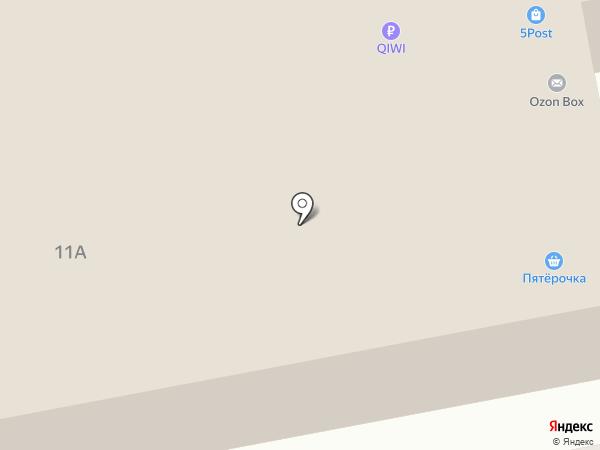 Беркут-69 на карте Твери
