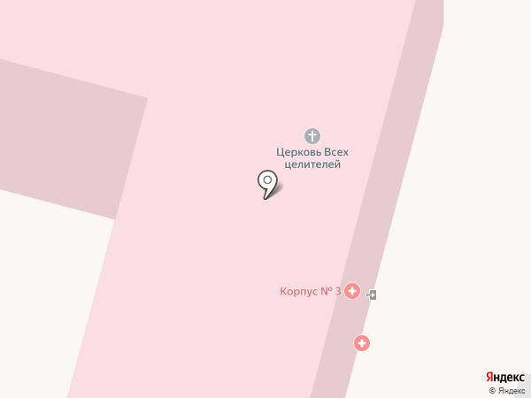 Городская клиническая больница №7 на карте Твери