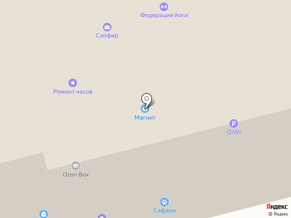 Всё в ажуре на карте Твери
