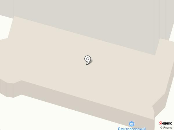 Дмитрогорский продукт на карте Твери