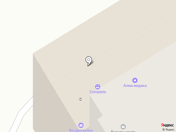 Континент строй на карте Твери