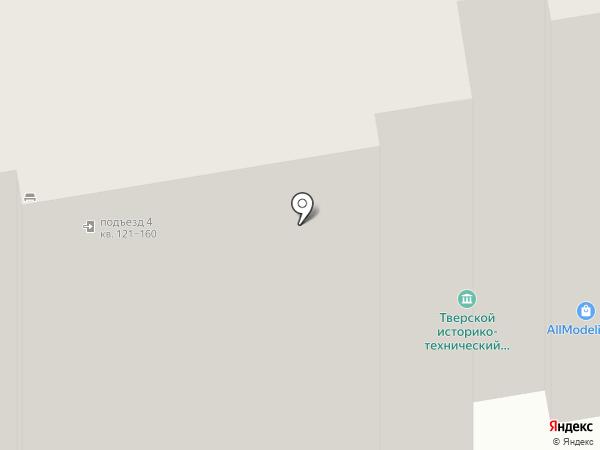 Фрау Марта на карте Твери