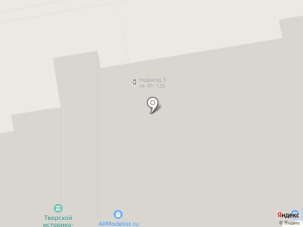 ВТК на карте Твери