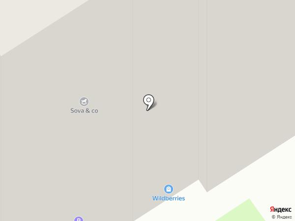 Радуга на карте Твери