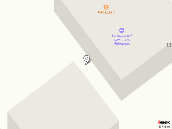 ЛЯмур на карте Лебедево