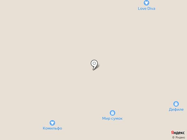 Lebek на карте Твери