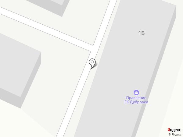 Дубровки на карте Дубровок