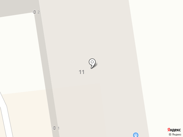 Виринея на карте Твери