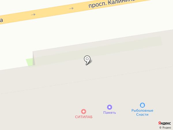 Память на карте Твери