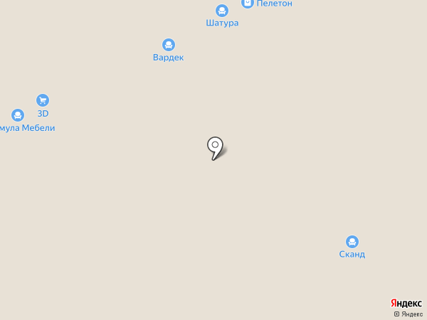 Терем на карте Твери