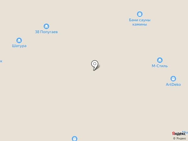 Авантаж на карте Твери