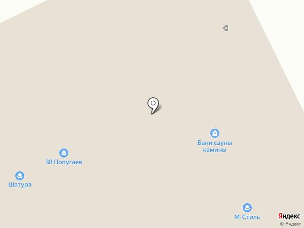 АСМ на карте Твери