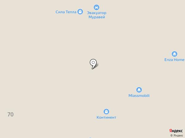 Дока сруб на карте Твери