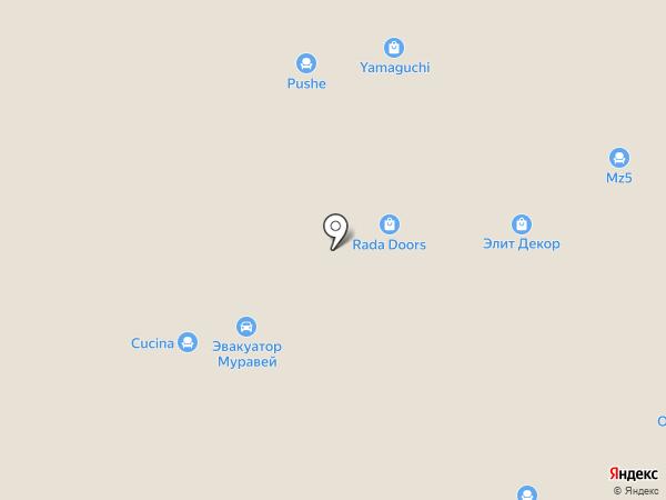 KOSMOSMEBEL.RU на карте Твери