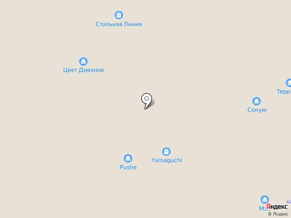 Спартак на карте Твери