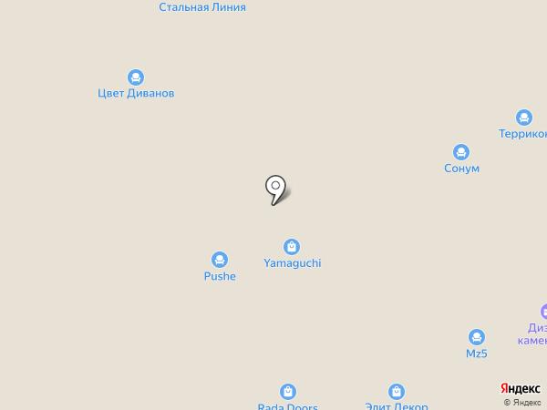Диваново на карте Твери