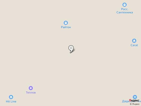 Е1 на карте Твери