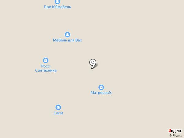 Столплит на карте Твери