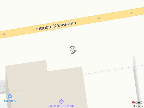 Домашний уголок на карте Твери