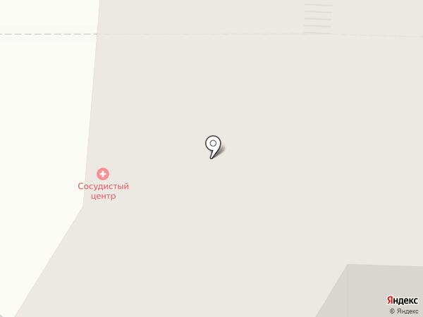 Тверской сосудистый центр на карте Твери