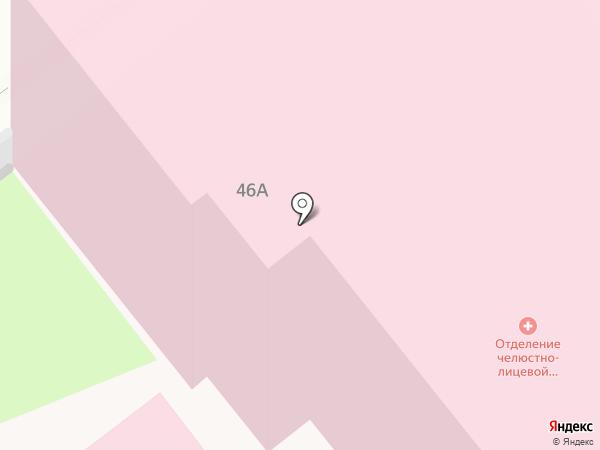 Городская клиническая больница №1 на карте Твери