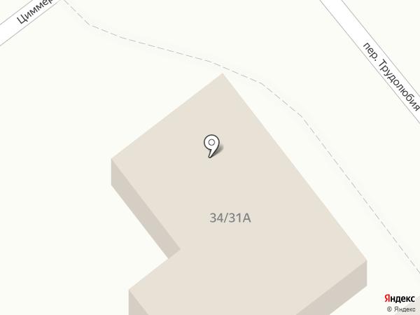 Народный на карте Твери