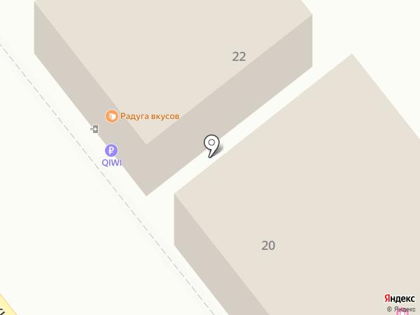 April на карте Твери